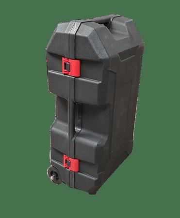 Caisse renforcée sur roulettes pour enfonce-pieux EP80