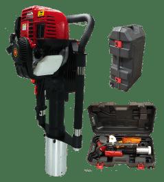 Enfonce-pieux EP80 et ses équipements